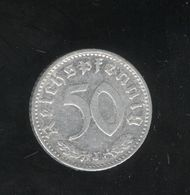 50 Pfennig  Allemagne/germany 1935 J - [ 4] 1933-1945 : Third Reich