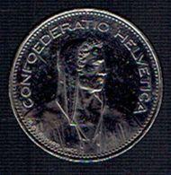 Pièce De 5 FR Confederatio Helvetica Année 2000 - Suisse