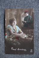 Guerre 1914 -18: Voeux Sincères. - Patrióticos