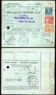 89746 LIBETBÁNYA / Ľubietová 1919.01. Nemzetközi Postautalvány,háromszínű Bérmentesítéssel/Czechoslovakia Nice Vorlaufer - Covers & Documents
