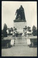 89875 SOROKSÁR 1935. Cca. Hősök Szobra, Fotós Képeslap  /  SOROKSÁR Ca 1935 Heroes Statue Photo Vintage Picture Postcard - Hungary