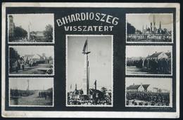 89869 BIHARDIÓSZEG 1940. Visszatért, Régi Képeslap  /  BIHARDIÓSZEG 1940 Military Vintage Picture Postcard - Hungary