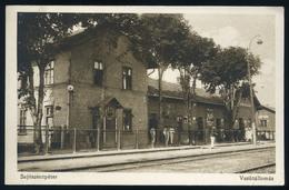 89876 SAJÓSZENTPÉTER 1929. Vasútállomás, Régi Képeslap  /  SAJÓSZENTPÉTER 1929 Station Vintage Picture Postcard - Hungary