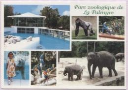 CPM - PARC ZOOLOGIQUE DE LA PALMYRE - MULTIVUES - Edition Artaud AS - Animaux & Faune