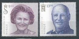 Norvège 2012 N° 1721/1722 Neufs** Couple Royal - Norway