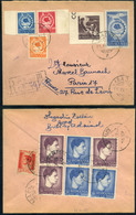 ROMANIA 1947. Nice Inflation Cover To Hungary - 1918-1948 Ferdinand, Charles II & Michael