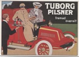 CPM - PUB BIERE TUBORG - COPENHAGUE - Edition Danoise - Publicité