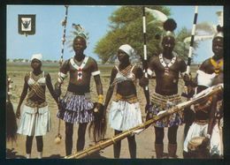 Sudán. *Dressing For A Dance. In The Southern Sudan* Nilo Distr. Nº 11B. Nueva. - Sudan