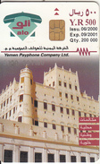 """YEMEN(chip) - Mosque In Say""""un, 06/00, Used - Yemen"""