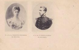 S.A.R. Le Princesse Elisabeth En Baviere, S.A.R. Le Prince Albert De Belgique (pk43124) - Royal Families