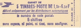 2059C1  1.30F. SABINE - CARNET De 5 - COUVERTURE IMPRESSION FINE - Usage Courant