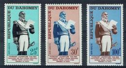 Dahomey (Benin), Toussaint Louverture, Haitian Revolution, 1963, MH VF - Benin - Dahomey (1960-...)