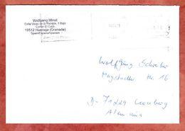 Brief, Francostempel, Hueneja Nach Leonberg 2011 (46317) - 1931-Heute: 2. Rep. - ... Juan Carlos I