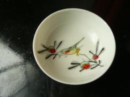 Japon - Coupelle à Décor D'oiseau Branché - Mil. XXe - Asian Art