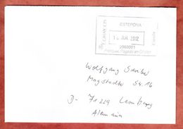 Brief, Francostempel, Hueneja Nach Leonberg 2012 (46325) - 1931-Heute: 2. Rep. - ... Juan Carlos I
