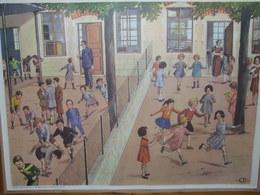 Affiche Scolaire - L'Ecole  Dos A L'Hotel - Manifesti