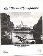 LA VIE EN CHAMPAGNE   JANVIER 1983  BAR SUR AUBE /  RADONVILLIERS  / TROYES - Autres Communes