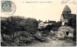 78 BEYNES - Ruines Du Chateau - Beynes