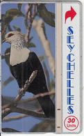 SEYCHELLES - Comoro Blue Pigeon, CN : 903B, Tirage 40000, Used - Seychelles