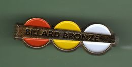 BILLARD *** BRONZE *** A012 - Billiards