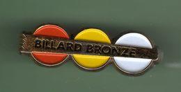 BILLARD *** BRONZE *** A012 - Billard