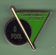 BILLARD *** 8 POOL CHAMPIONNATS DE FRANCE *** A012 - Billiards