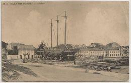 Postal Portugal - Vila Do Conde - Estaleiro - (Ed. A. F., Nº11-B) - CPA - Postcard - Villa Do Conde - Porto