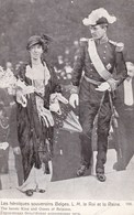 Les Héroiques Souverains Belges, L.M. Le Roi Et La Reine (pk43145) - Familles Royales