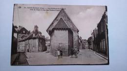 Carte Postale (t1) Ancienne De St Amand Montrond , Rue Du Four - Saint-Amand-Montrond