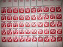 TERRES AUSTRALES ET ANTARCTIQUES FRANCAISES (TAAF) - Planche De 50 Timbres De 1993 N° 172 : Armoiries Du Territoire - Terres Australes Et Antarctiques Françaises (TAAF)