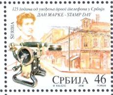 SRB 2008-264 STAMP DAY, SERBIA, 1 X 1v, MNH - Telekom