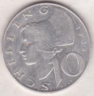 Autriche. 10 Schilling 1958. Argent - Autriche