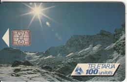 ANDORRA(chip) - Seasons/Winter, Tirage 20000, 02/92, Used - Andorra