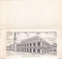 VICENZA - BIGLIETTO DELLA DITTA OLIMPIC - PIAZZA DEI SIGNORI - BASILICA PALLADIANA - 1545 - Vicenza