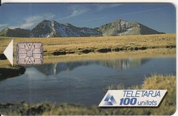 ANDORRA(chip) - Seasons/Summer, Tirage 20000, 10/91, Used - Andorra