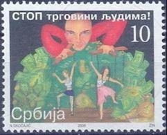 SRB 2008-ZZ15 AGAINST HUMAN TRADE, SERBIA, 1 X 1v, MNH - Serbie