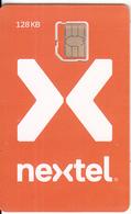 MEXICO - Nextel GSM(nano Sim), Mint - Mexico
