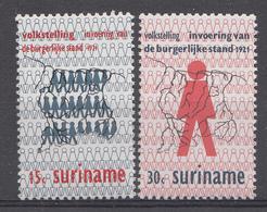 Suriname 1971 Mi.nr: 605-606 Einführung Des Standesamtes  NEUF Sans CHARNIERE / MNH / POSTFRIS - Suriname
