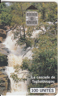 BURKINA FASO(chip) - Tagbaldougou Waterfalls, Used - Burkina Faso