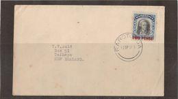 E16 - RAROTONGA N°32 Seul Sur Lettre Du 12 SEPTEMBRE 1931 -  JAMES COOK. - Timbres