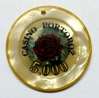 TOKEN SLOVENIA CASINO PORTOROZ 5.000 - Casino