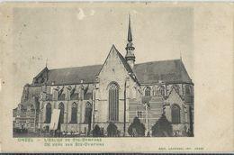 Gheel   -   L'Eglise De Ste-Dymphne   -  (lichtjes Bekrapt)  1900 - Geel