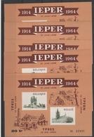 E 101 5x Ieper ** - Commemorative Labels