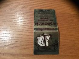 Pochette D'allumettes SEITA «le Phoenicia BREST (29) » (plan, Bateau) - Boites D'allumettes