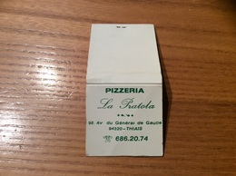 Pochette D'allumettes SEITA «PIZZERIA La Pratola THIAIS (94) » - Boites D'allumettes