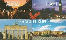 CARTE PREPAYEE-A TELECOM-50F-FRANCE/EUROPE-Exp 31/08/2001-TBE - France