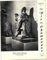 LA VIE EN CHAMPAGNE   OCTOBRE 1976   /LES MAUSOLEES DES CHOISEUL PRASLIN  / ECONOMIE CHAMPENOISE DE 1974 - France