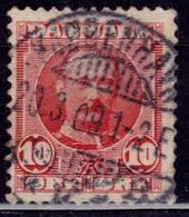 Denmark 1907-12, King Frederik VII, 10o, Sc#73, Used - 1905-12 (Frederik VIII)