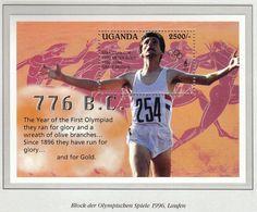 Uganda 1995 / Olympic Games Atlanta 1996 / Athletics / Winner Sebastian Coe - Ete 1996: Atlanta