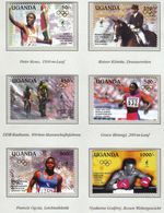 Uganda 1995 / Olympic Games Atlanta 1996 / Athletics, Equestrian, Cycling, Boxing / Winners - Ete 1996: Atlanta